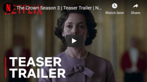 THE CROWN Gala Premiere at AFI FEST 2019 presented by Audi on November 16 at TCL Chinese Theatre will honor creator Peter Morgan to be attended by Season 3 all cast members